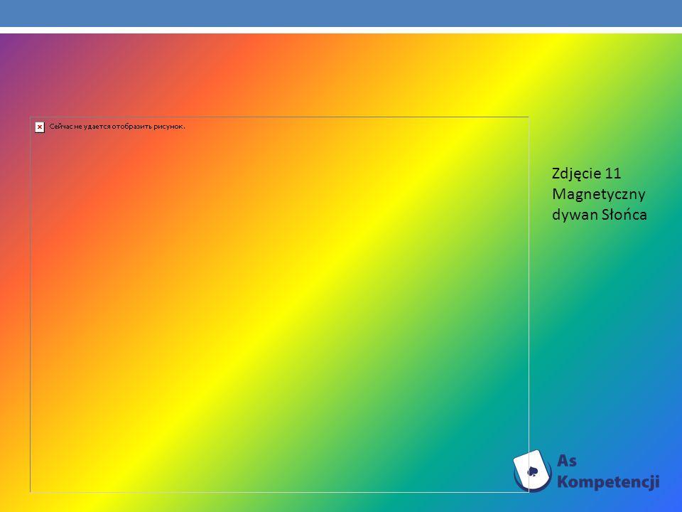 Zdjęcie 11 Magnetyczny dywan Słońca
