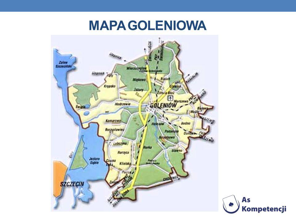 MAPA GOLENIOWA