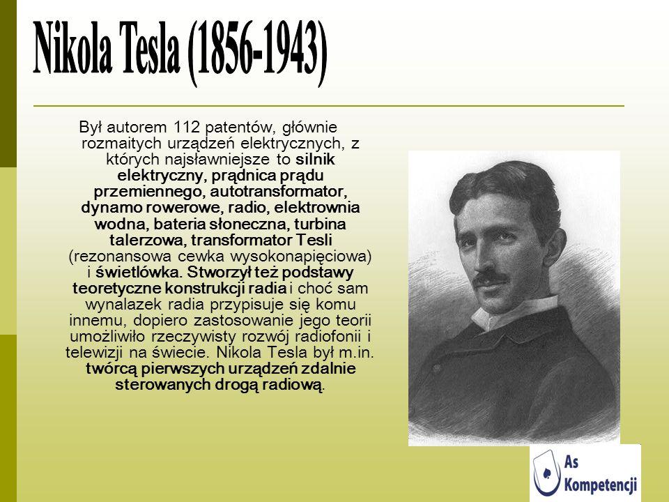 Był autorem 112 patentów, głównie rozmaitych urządzeń elektrycznych, z których najsławniejsze to silnik elektryczny, prądnica prądu przemiennego, auto