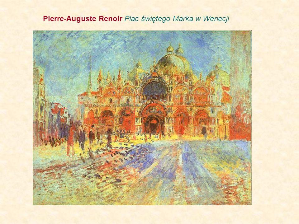 Pierre-Auguste Renoir Plac świętego Marka w Wenecji