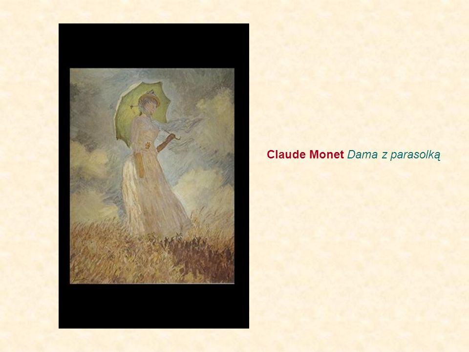 Claude Monet Dama z parasolką
