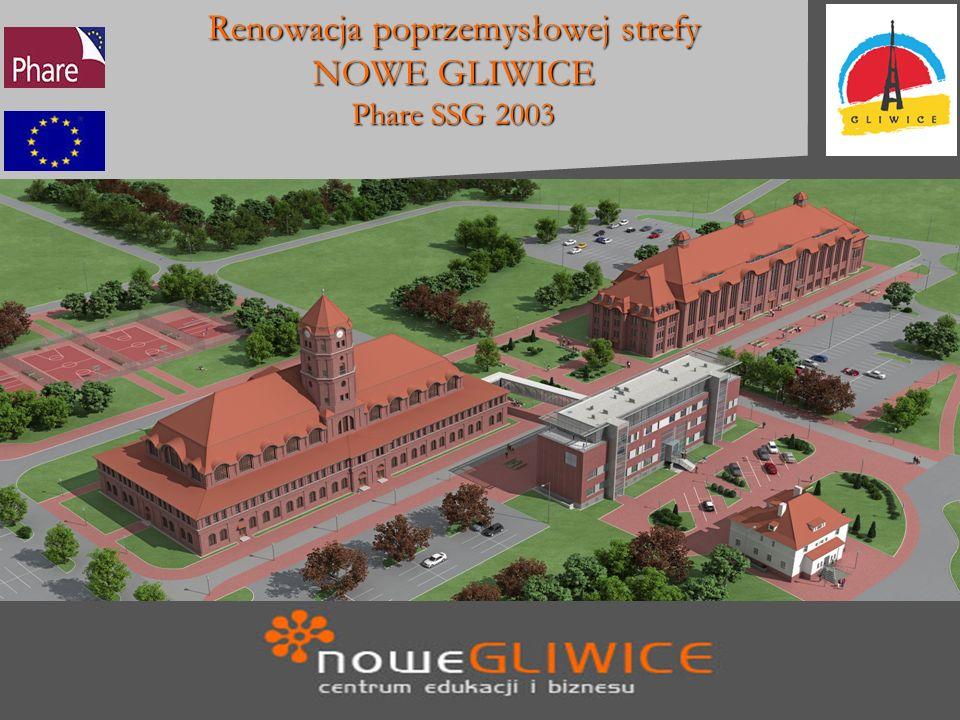 Nowe Gliwice Budynek Wyższej Szkoły Budynek dawnej cechowni