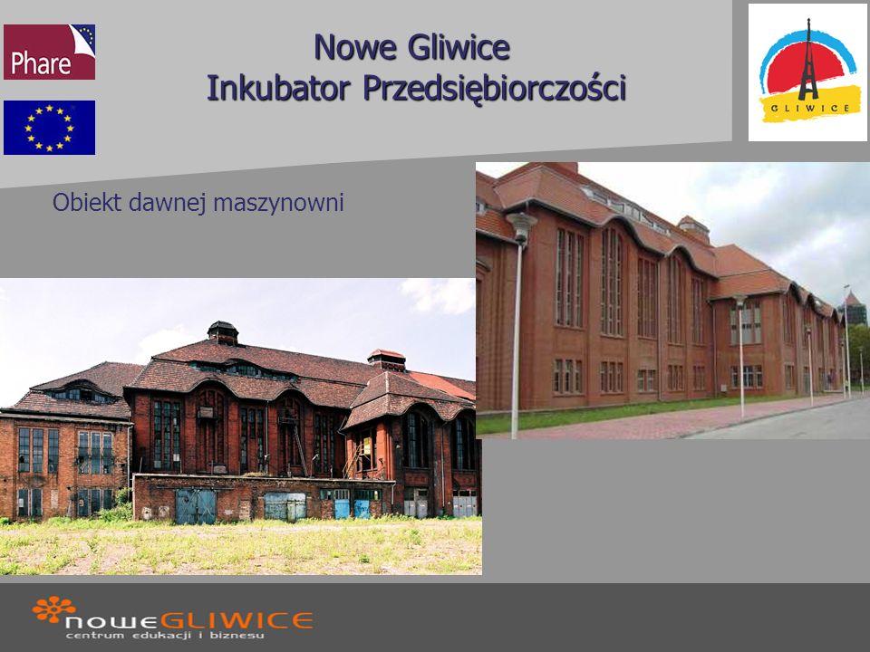Nowe Gliwice Inkubator Przedsiębiorczości Obiekt dawnej maszynowni