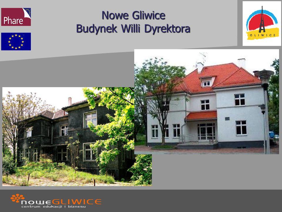 Nowe Gliwice Budynek Willi Dyrektora