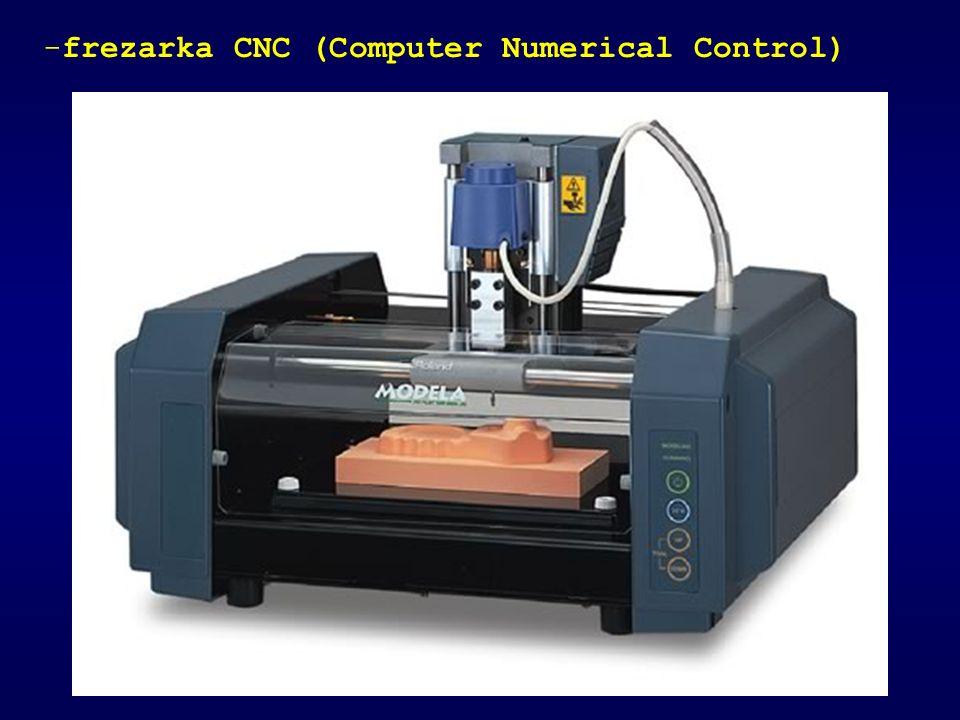 -frezarka CNC (Computer Numerical Control)