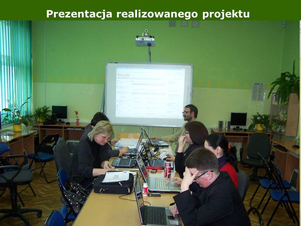 Prezentacja realizowanego projektu Galeria zdjęć