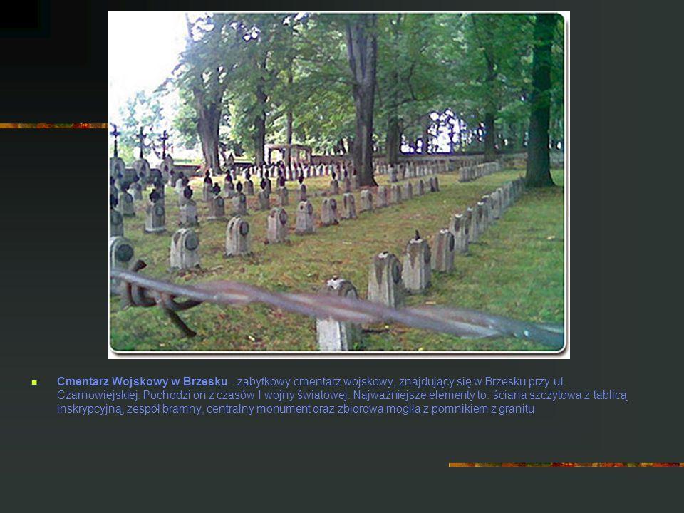 Cmentarz Wojskowy w Brzesku - zabytkowy cmentarz wojskowy, znajdujący się w Brzesku przy ul. Czarnowiejskiej. Pochodzi on z czasów I wojny światowej.