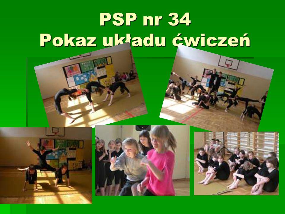 PSP nr 34 Pokaz układu ćwiczeń