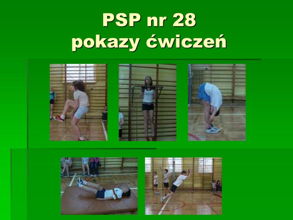 PSP nr 28 pokazy ćwiczeń