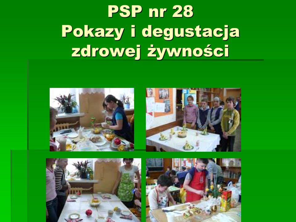 PSP nr 28 Pokazy i degustacja zdrowej żywności