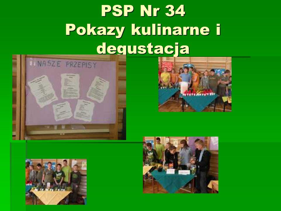 PSP Nr 34 Pokazy kulinarne i degustacja