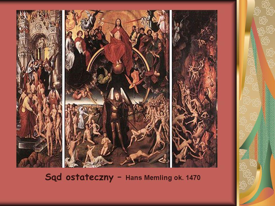 Sąd ostateczny – Hans Memling ok. 1470