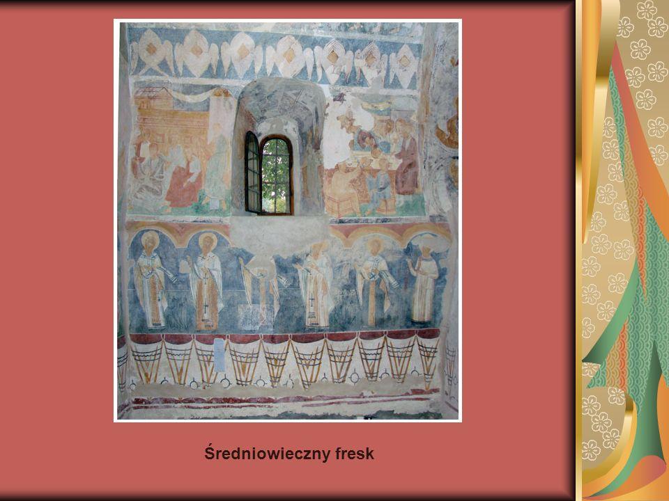 Średniowieczny fresk