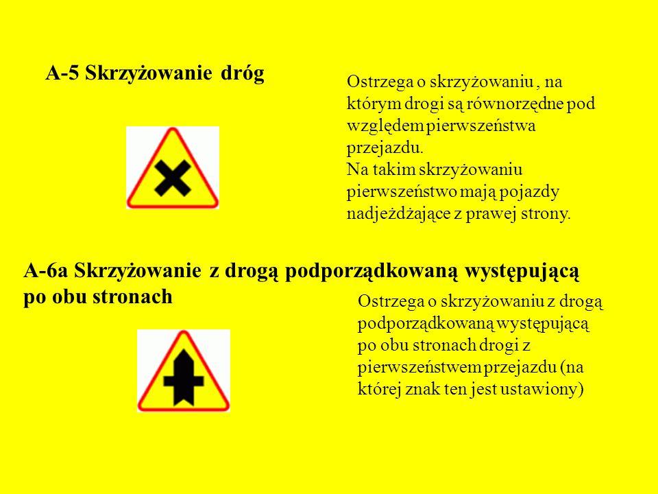 Zadanie. Wykonaj prezentację o: znakach drogowych nakazu i znakach informacyjnych