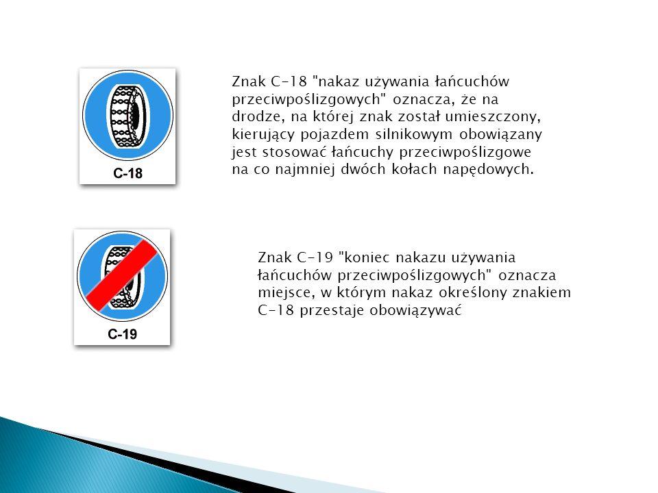 Znak C-18
