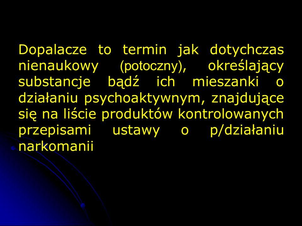 Mity i Fakty Dopalacze jako bezpieczna alternatywa dla narkotyków – NIE.