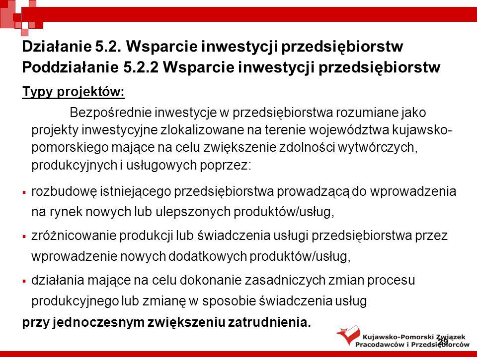 29 Działanie 5.2.