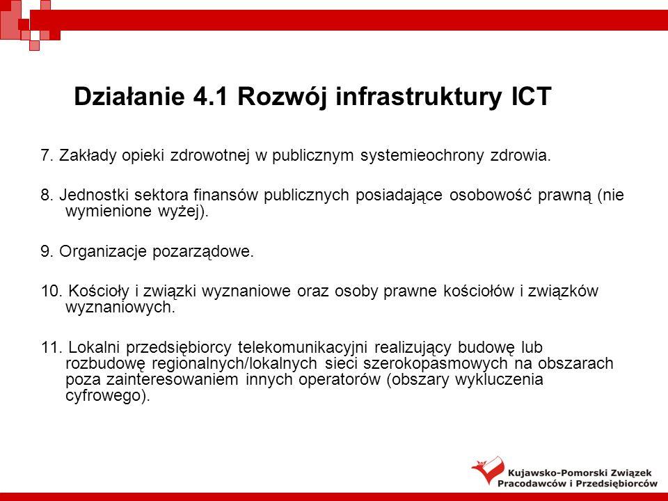 30 Wyłączenia dla poddziałania 5.2.2 RPO WKP działalność w branży uzdrowiskowej i turystycznej (osobne działanie 6.2 RPO!), Projekty na rozwój e-usług- dotyczące wdrożenia ICT w przedsiębiorstwach oraz zapewniające szeroki dostęp i wykorzystanie ICT dla przedsiębiorstw (osobne działanie 4.3 RPO!), projekty przedsiębiorstw ujęte w Lokalnym Programie Rewitalizacji (ujęte w osi 7 RPO).