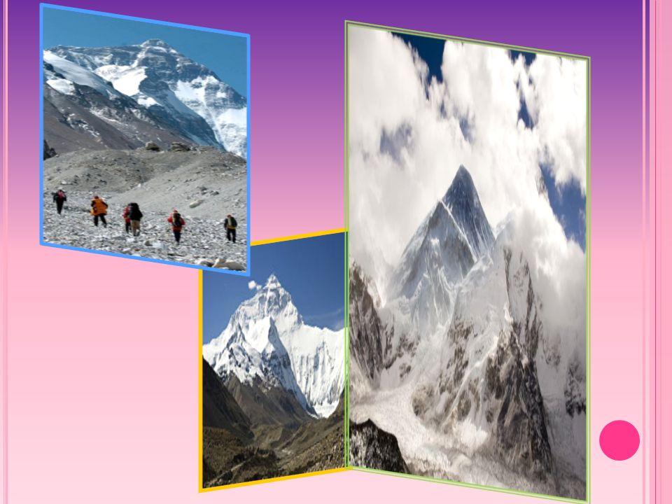 M ONT B LANC Mont Blanc mierzący 4807 m.