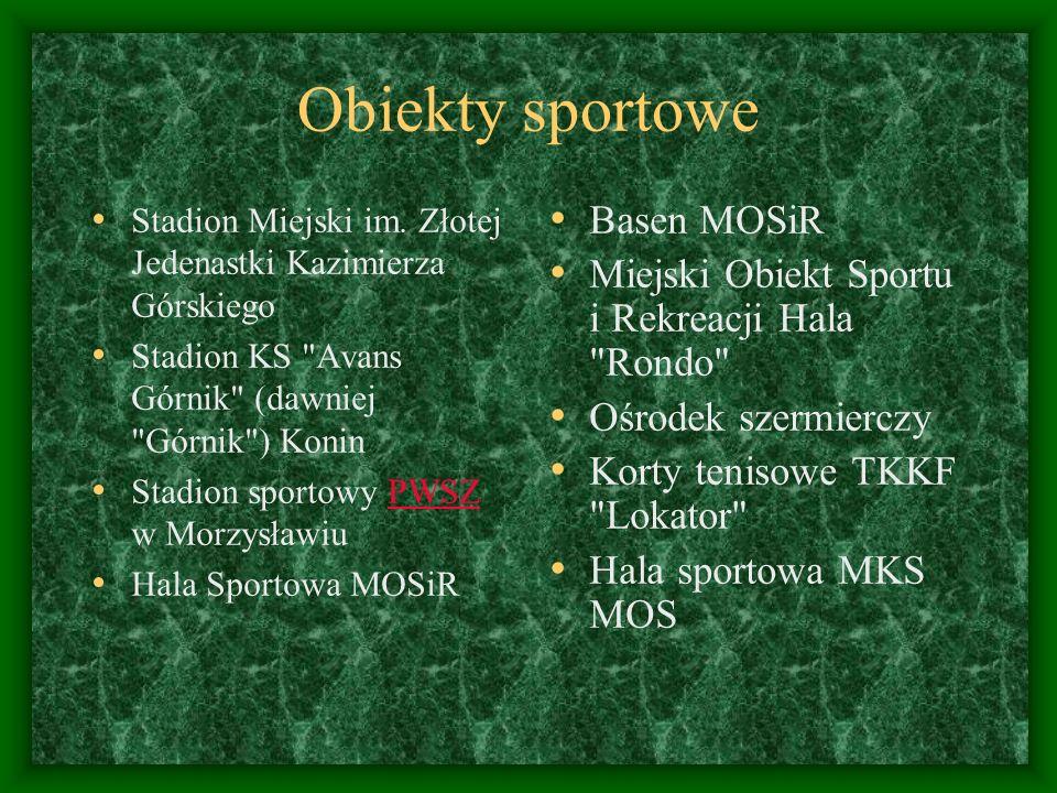 Obiekty sportowe Stadion Miejski im. Złotej Jedenastki Kazimierza Górskiego Stadion KS
