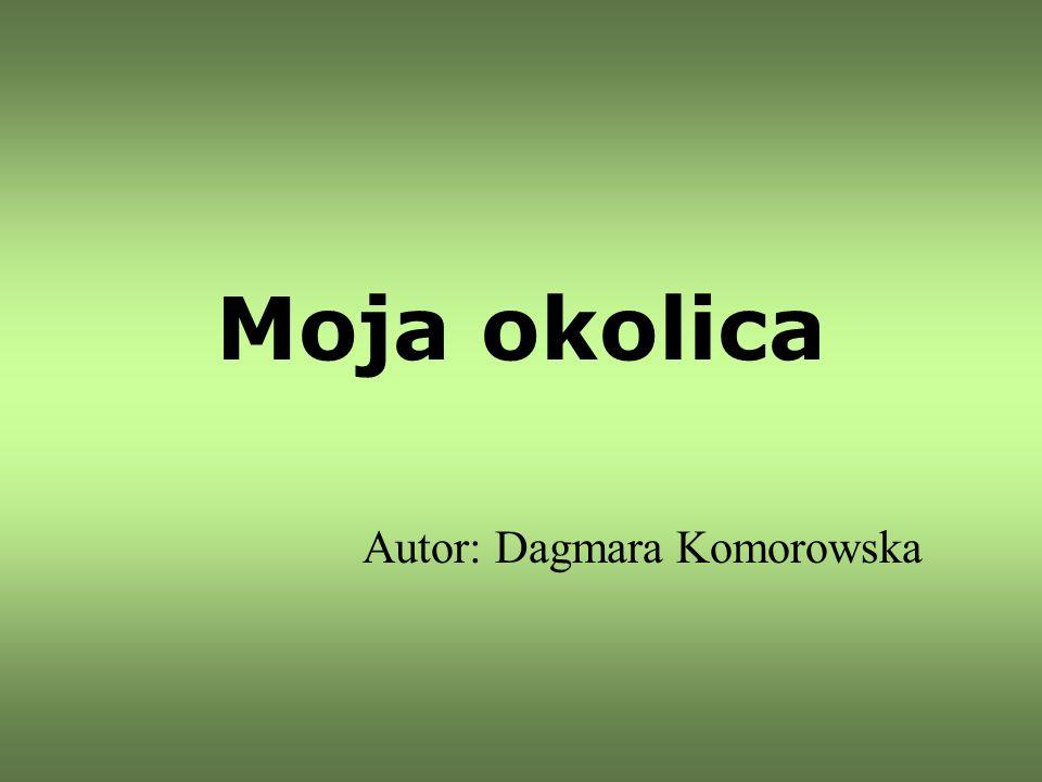 Moja okolica Autor: Dagmara Komorowska