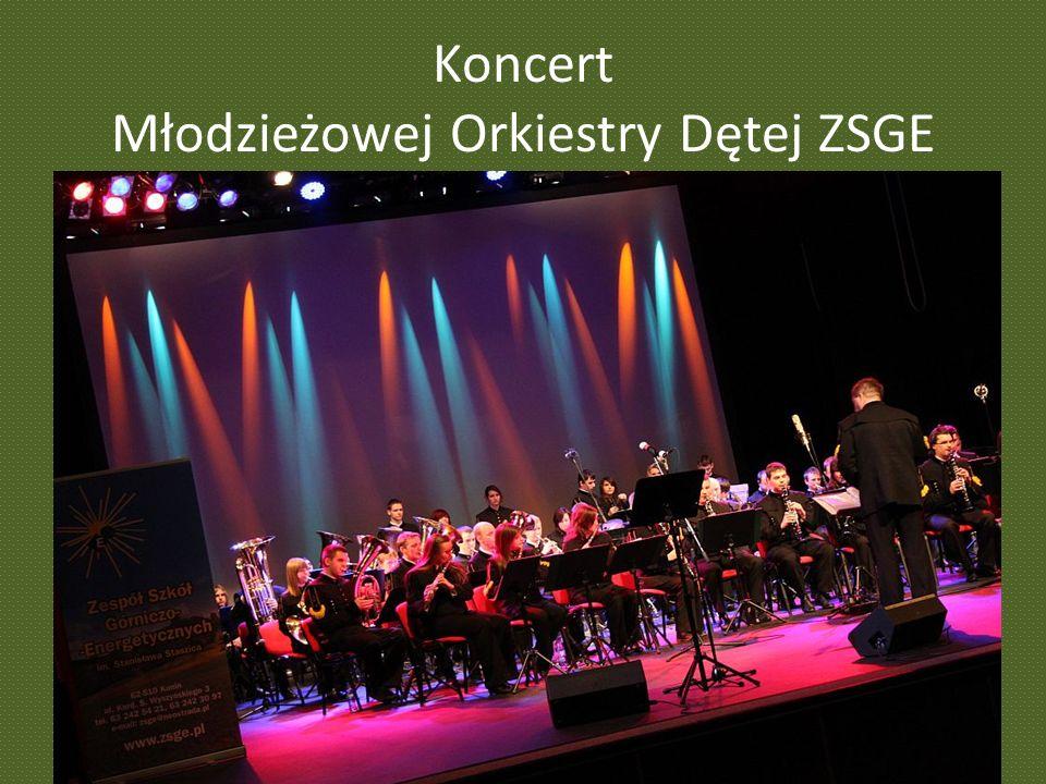 Koncert Młodzieżowej Orkiestry Dętej ZSGE