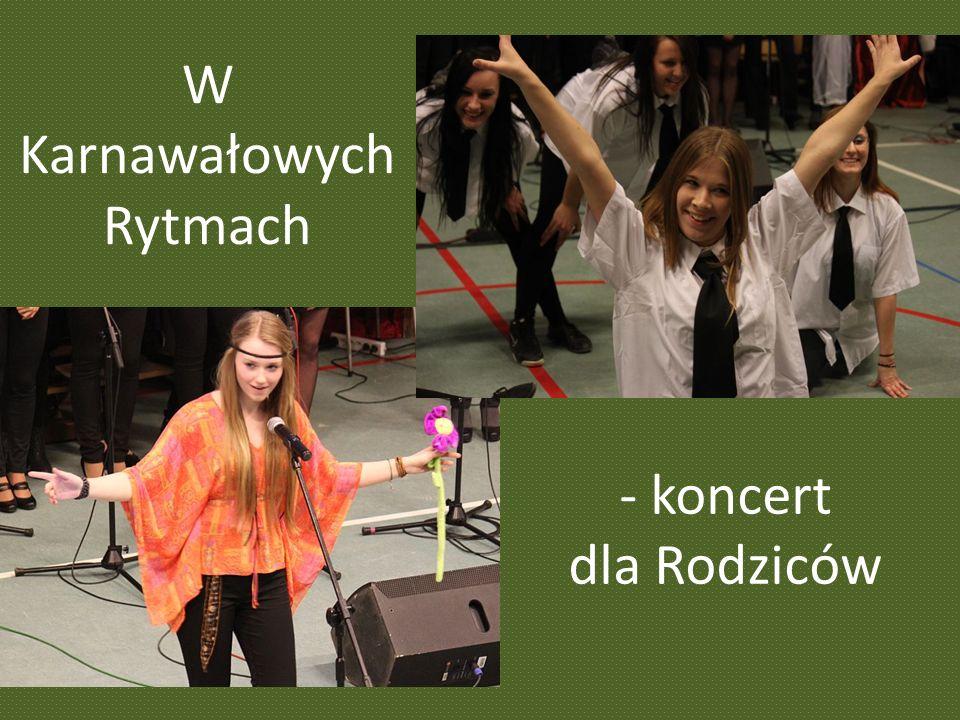 W Karnawałowych Rytmach - koncert dla Rodziców