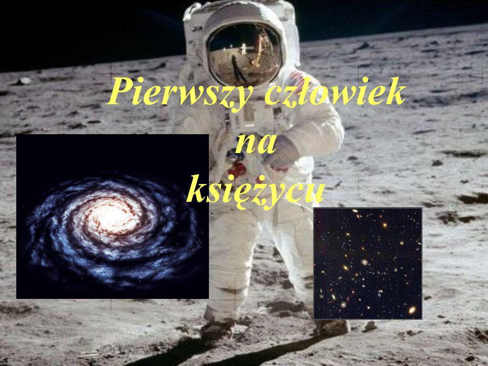 Neil Armstrong - pierwszy człowiek, który stanął na powierzchni Księżyca.