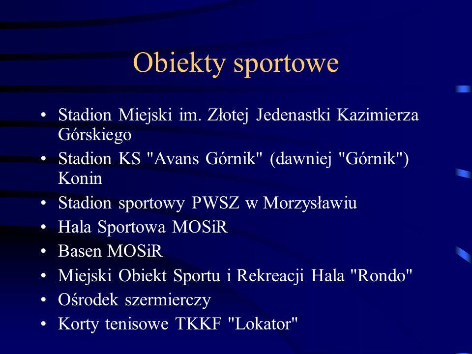 Obiekty sportowe Stadion Miejski im.