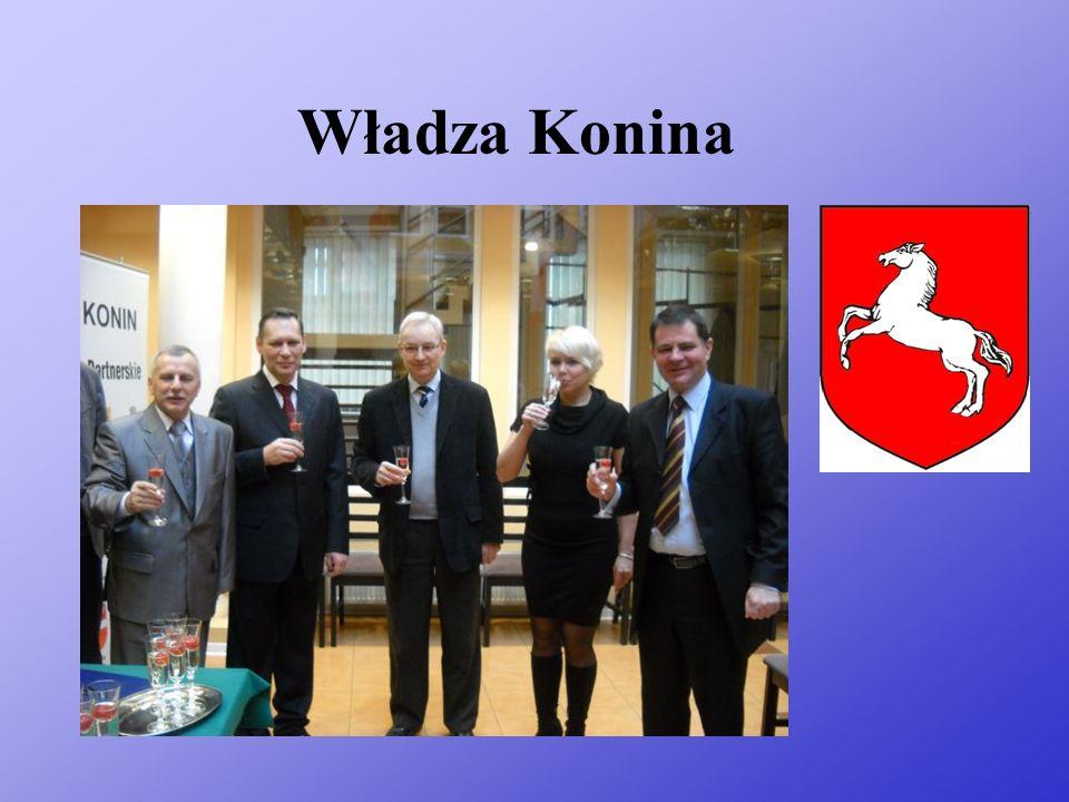 Trochę o Koninie Konin – miasto na prawach powiatu w środkowej Polsce, położone w Dolinie Konińskiej nad rzeką Wartą, we wschodniej części województwa