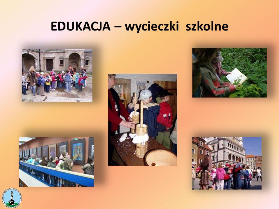 EDUKACJA – wycieczki szkolne
