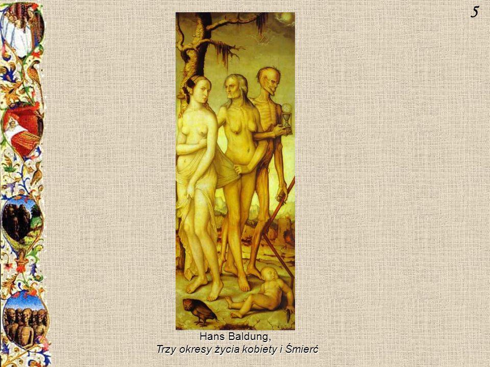 Hans Baldung, Trzy okresy życia kobiety i Śmierć 5