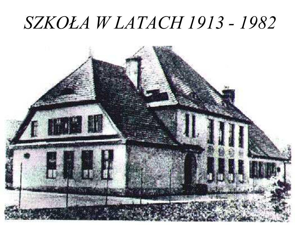 Historia W pobliżu istniejącej szkoły w 1912 roku rozpoczęto budowę nowego obiektu, który oddano do użytku w 1913 roku.