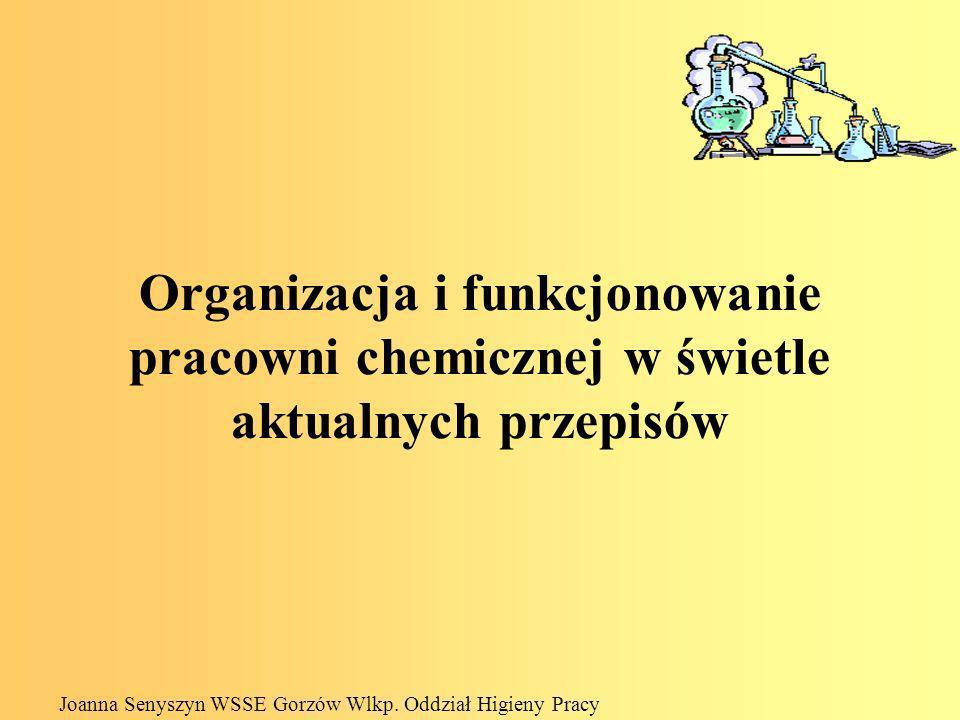 Polskie regulacje prawne - substancje i preparaty chemiczne Ustawa z 29 lipca 2005r.
