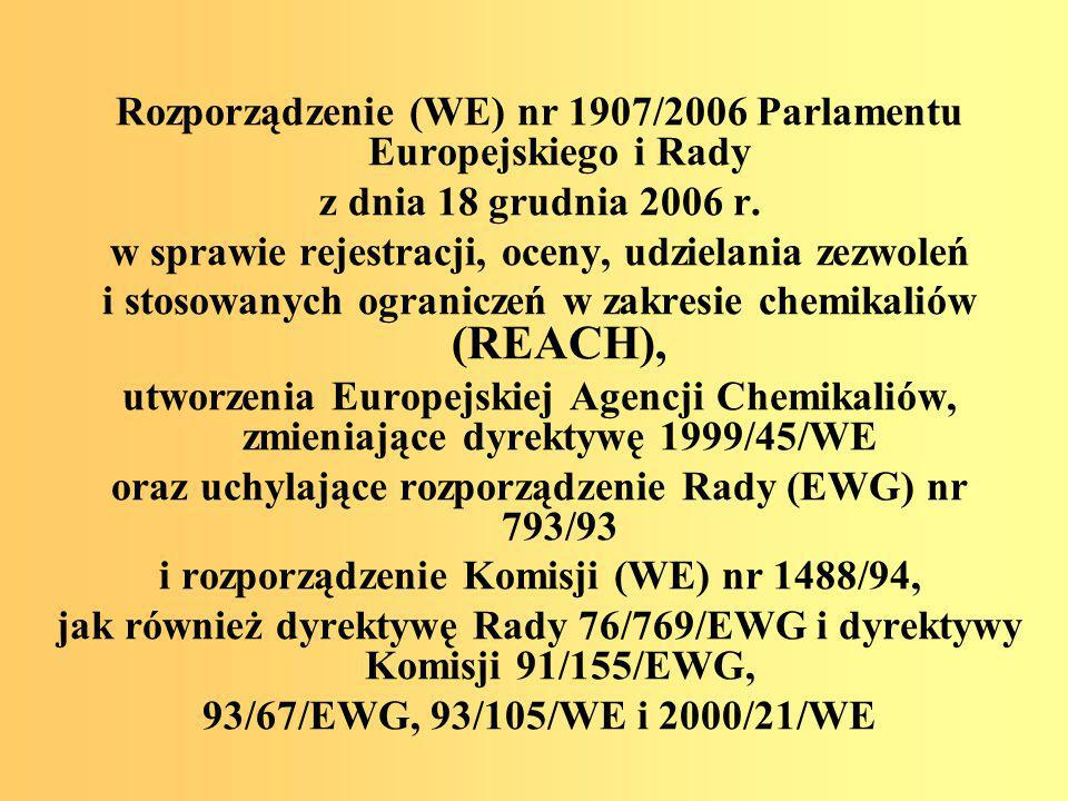 Twinning Project PL/IB/2002/OT/04 Strengthening of the administrative capacity for risk assessment and chemicals control