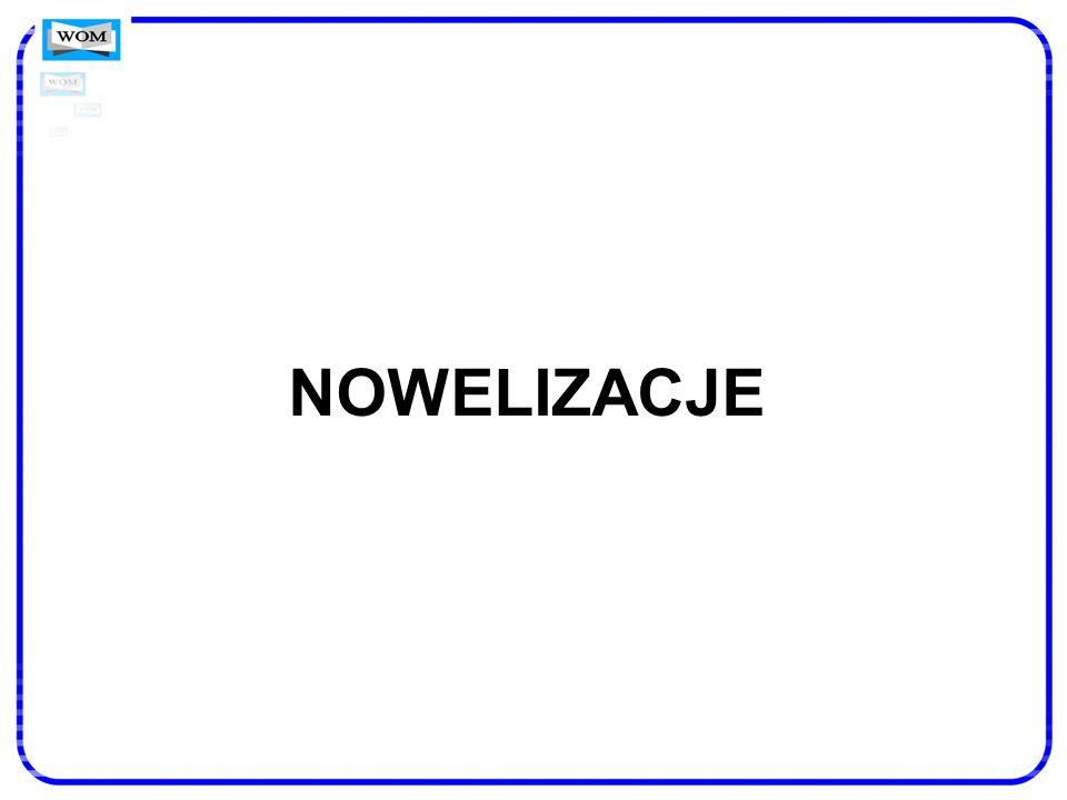 NOWELIZACJE