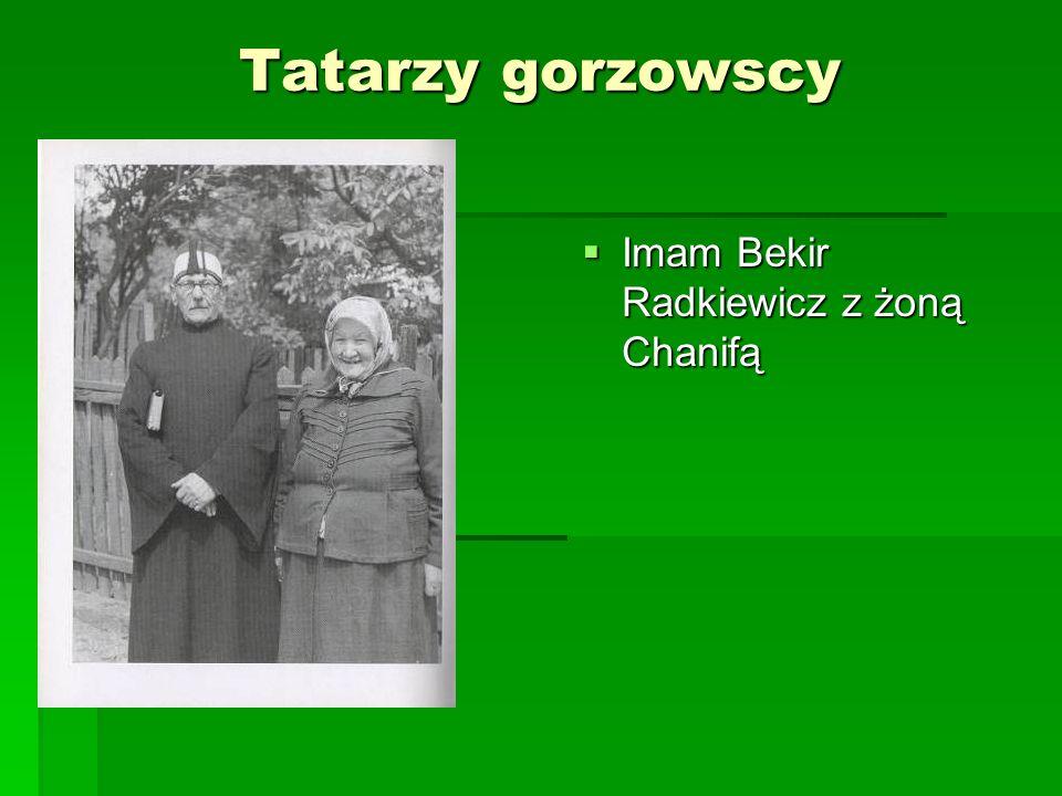 Tatarzy gorzowscy Imam Bekir Radkiewicz z żoną Chanifą Imam Bekir Radkiewicz z żoną Chanifą