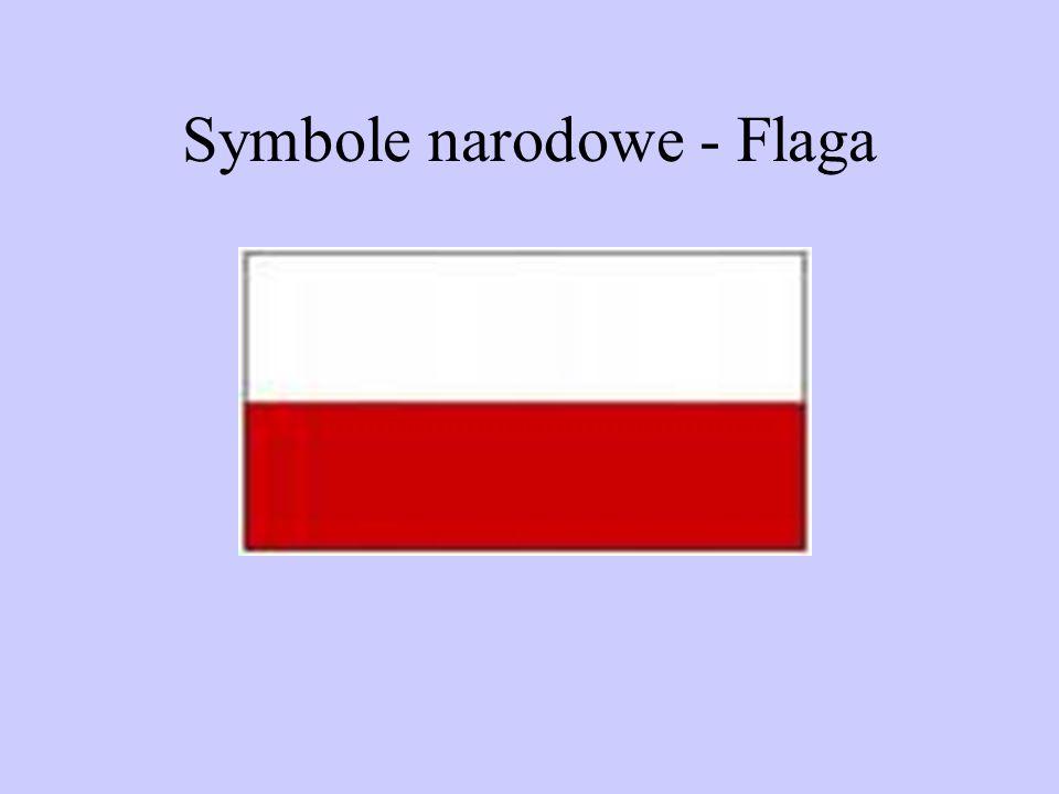 Symbole narodowe - Flaga