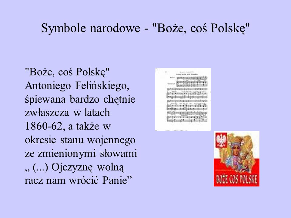 Symbole narodowe -