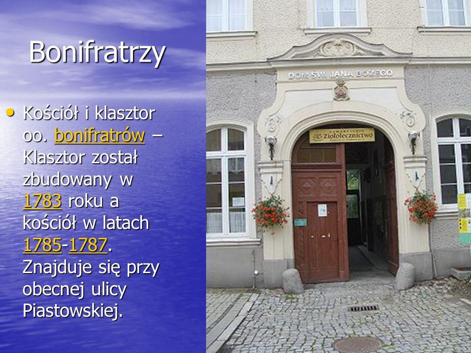 Bonifratrzy Kościół i klasztor oo.