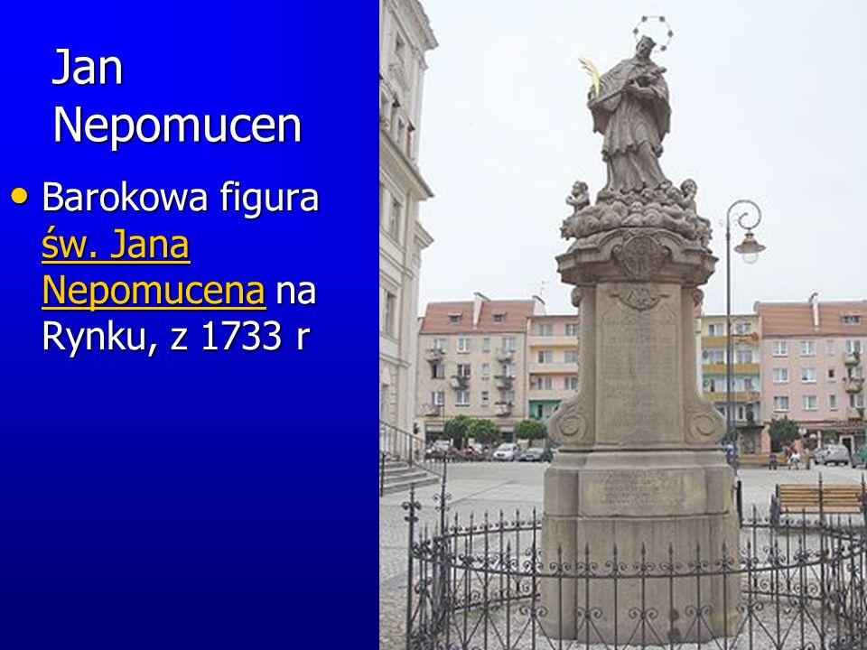 Fontanna Barokowa fontanna z 1695 r.– także na Rynku Starówki.