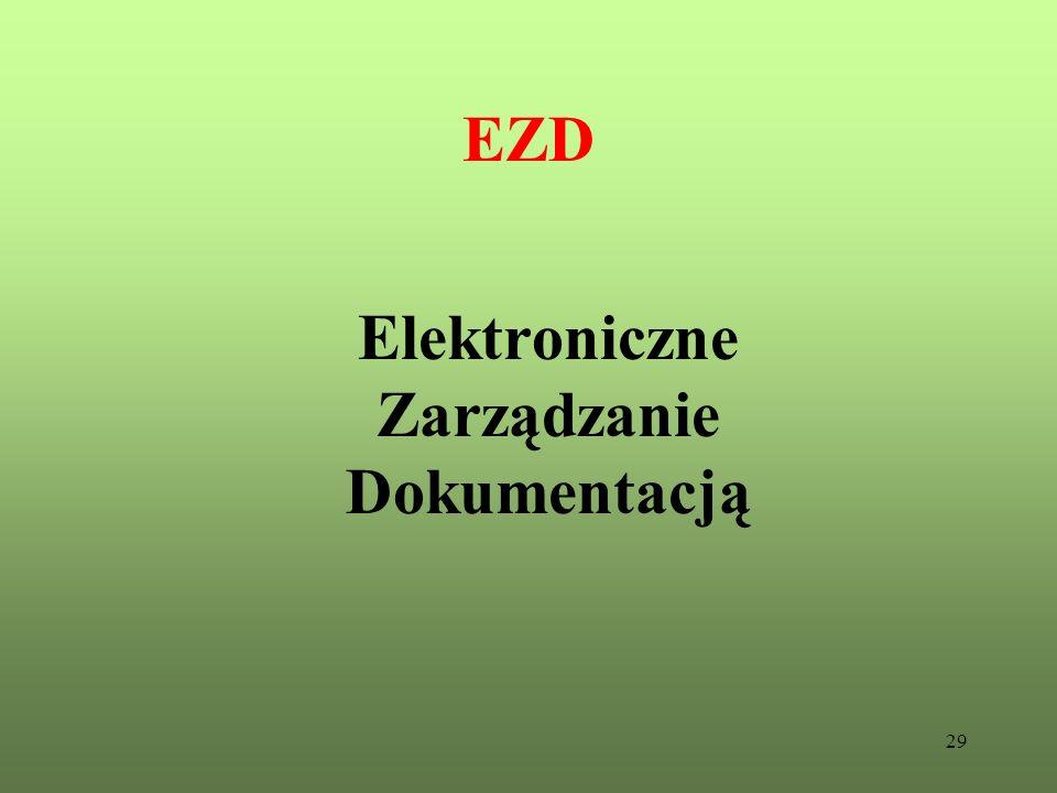 29 EZD Elektroniczne Zarządzanie Dokumentacją