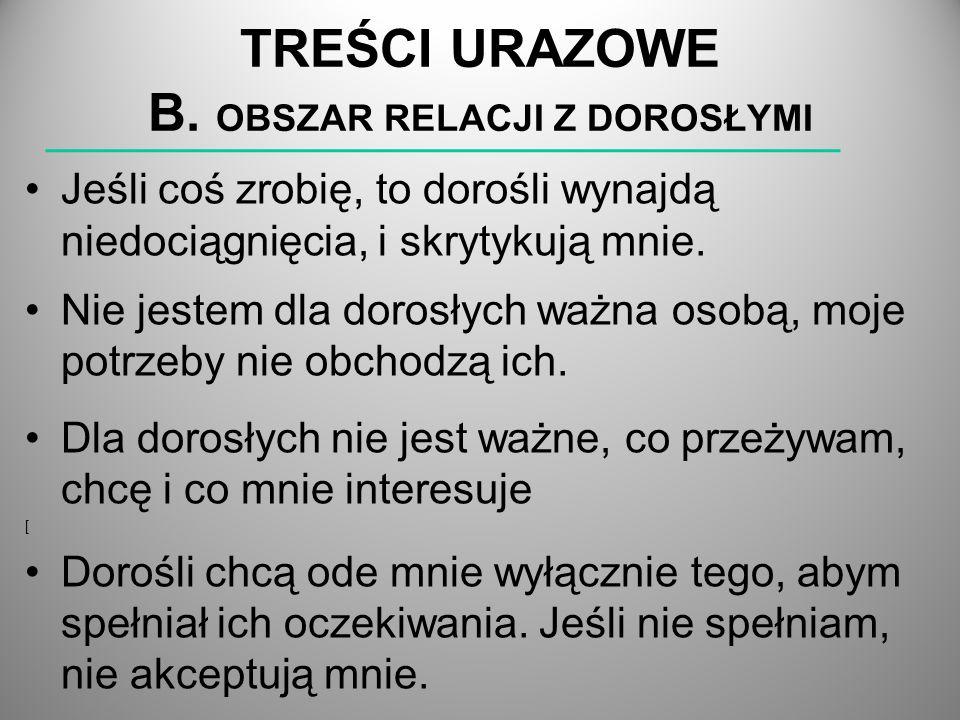 TREŚCI URAZOWE B.