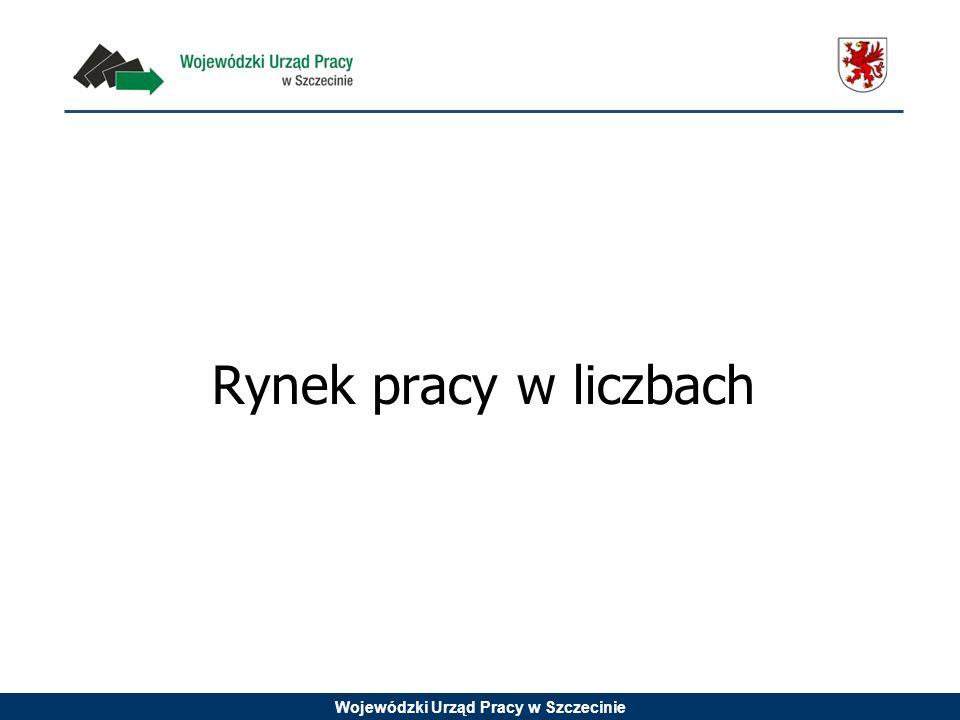 Wojewódzki Urząd Pracy w Szczecinie Rynek pracy w liczbach