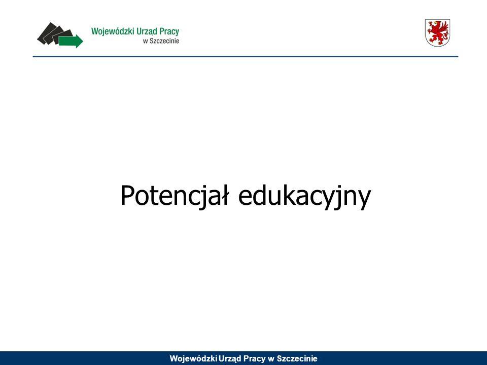 Wojewódzki Urząd Pracy w Szczecinie Potencjał edukacyjny