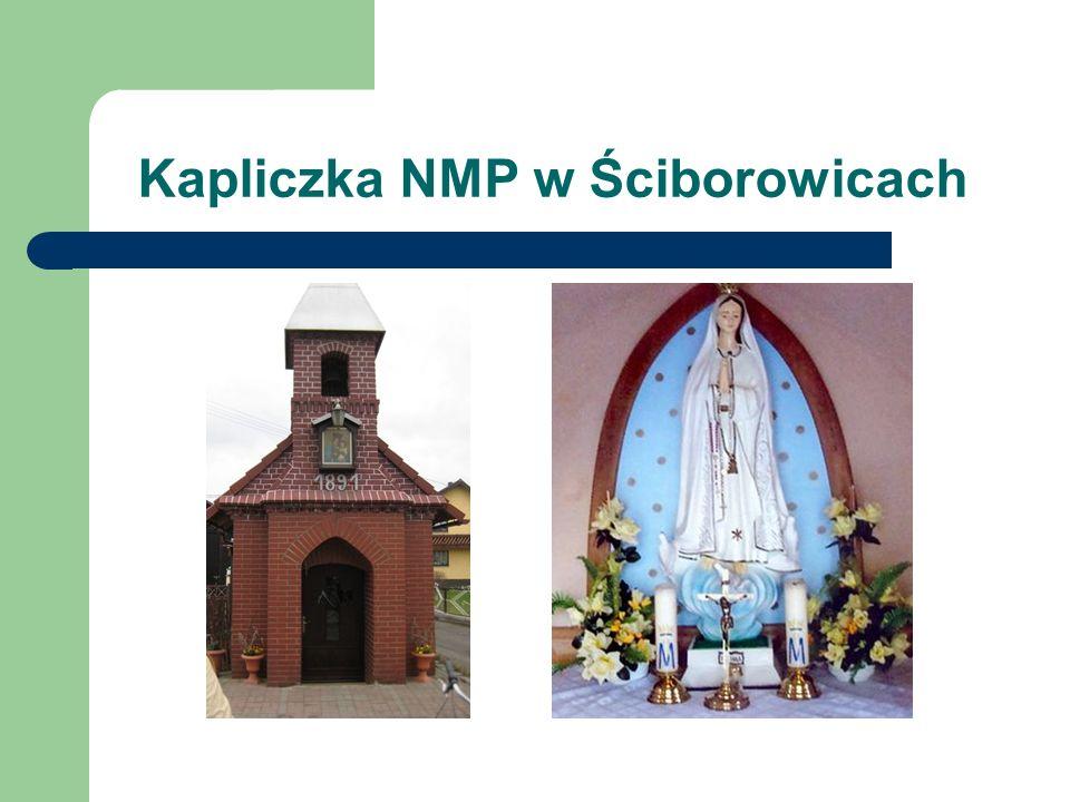 Wersja druga i trzecia Przy kapliczce św.