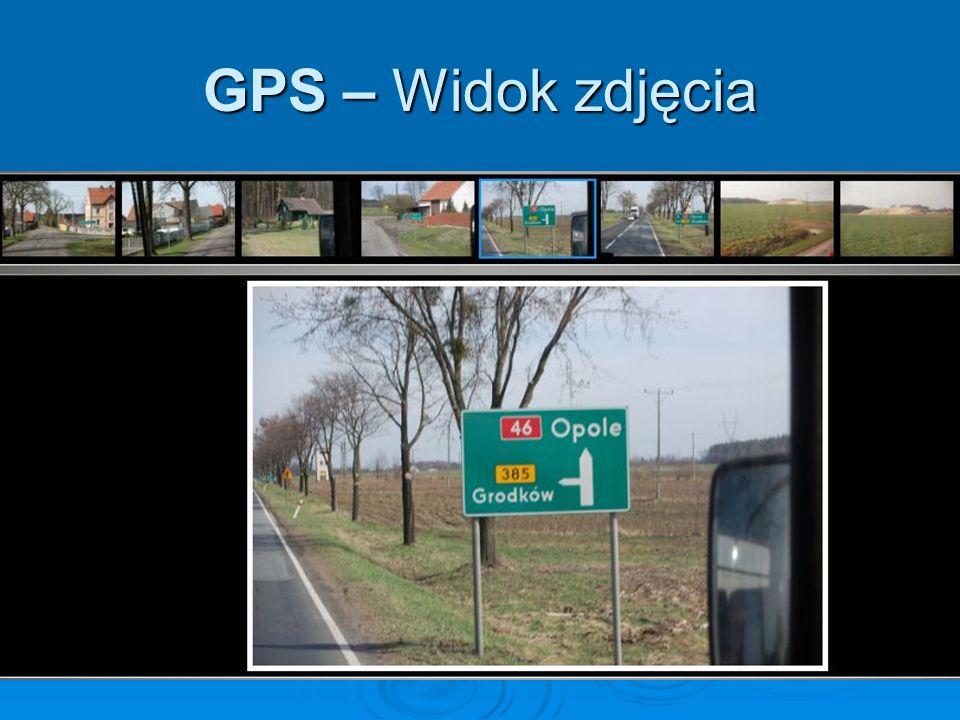 GPS – Widok zdjęcia