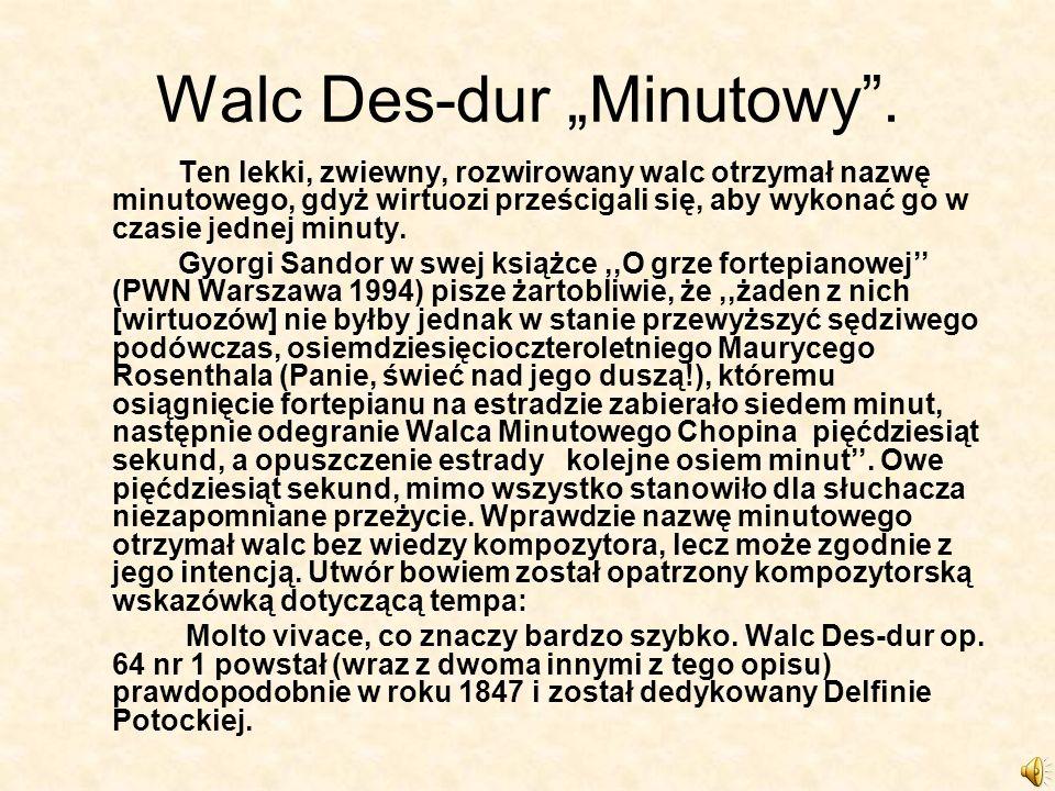 Walc Des-dur Minutowy.