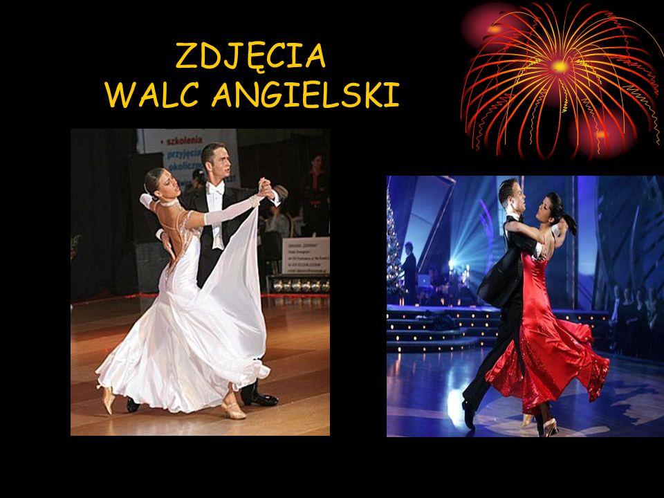 WALC WIEDEŃSKI Jest to szybsza odmiana walca Po raz pierwszy został wykonany w 1815 roku, podczas kongresu wiedeńskiego Walc wiedeński jest najstarszym turniejowym tańcem standardowym Na taniec ten składa się pięć podstawowych figur: krok zmienny, obrót w prawo, obrót w lewo, fleckerl w prawo, fleckerl w lewo.