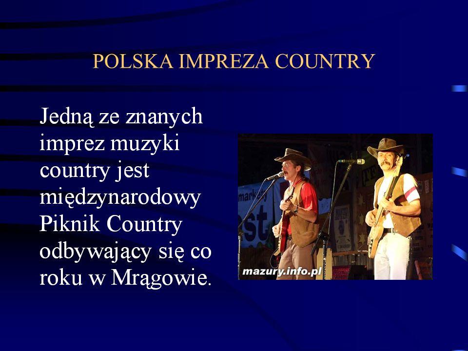 POLSKA IMPREZA COUNTRY
